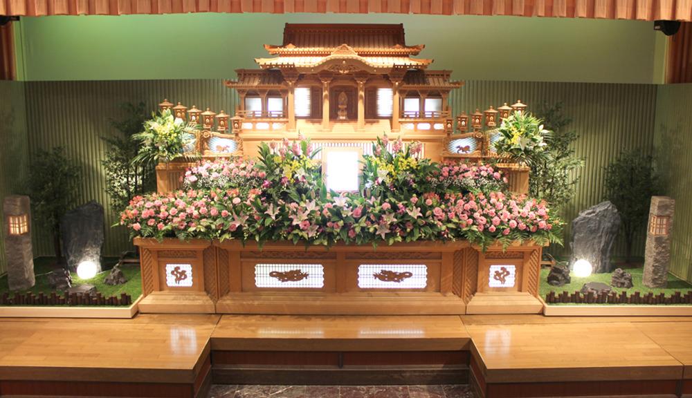 一般葬スタンダードプランイメージ画像